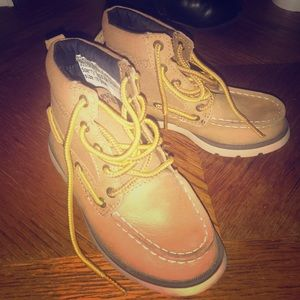 Toddler boy Sperry boots size 10M